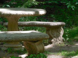 betonowa ławka