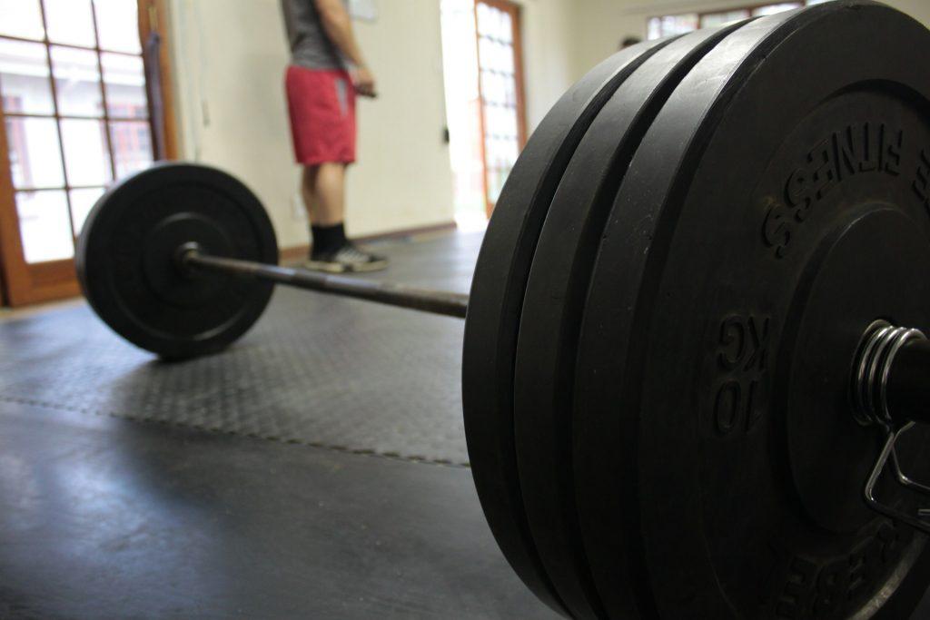podłoga do siłowni