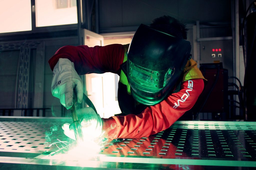 funkcjonalna spawarka tig do aluminium